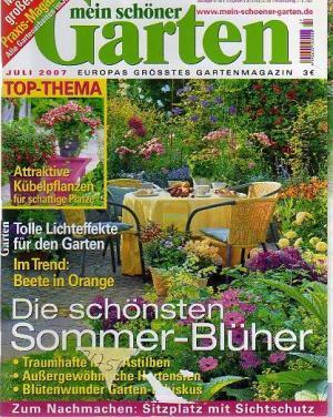 Mein schöner Garten - Juli 2007