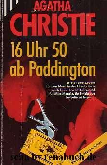 16 Uhr 50 ab Paddington: Christie, Agatha: