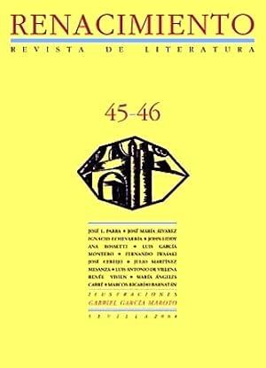 RENACIMIENTO, nº45-46. Revista de Literatura. Dirigida por