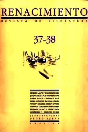 RENACIMIENTO, nº37-38.- Revista de Literatura. Dirigida por