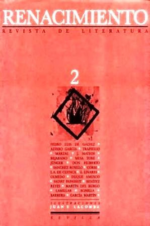 RENACIMIENTO, nº2.- Revista de Literatura. Director: Abelardo