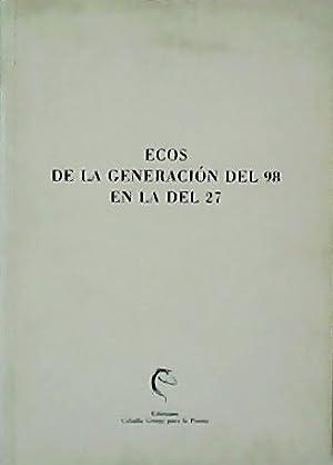 Ecos de la generación del 98 en: ENCISO RECIO, Luis