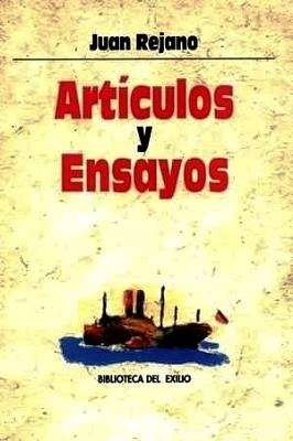 Artículos y ensayos. (Don Lindo de Almería,: REJANO, Juan.-