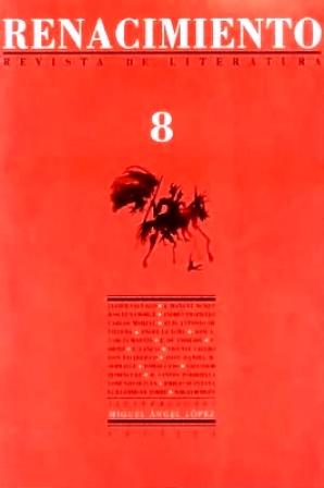 RENACIMIENTO, nº8.- Revista de Literatura. Director: Juan
