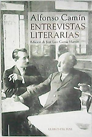 Entrevistas literarias. (Emilio Carrere, Armando Palacio Valdés,: CAMIN, Alfonso.-