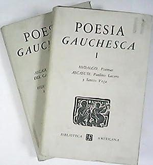 Poesía gauchesca. Edición, prólogo, notas y glosario por. (Bartolomé ...