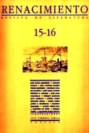 RENACIMIENTO, nº15-16.- Revista de Literatura. Colaboran: José