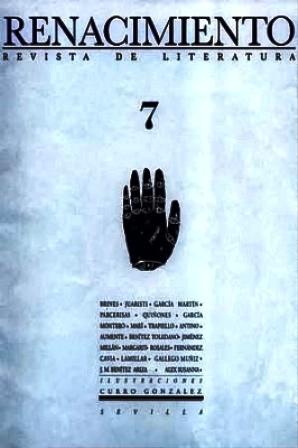 RENACIMIENTO, nº7.- Revista de Literatura. Director: Felipe
