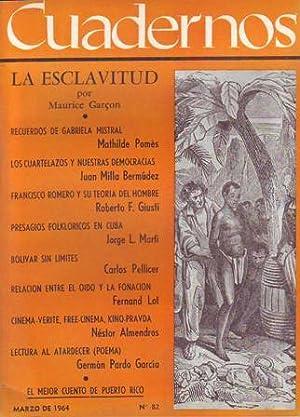 CUADERNOS, nº82.- Revista Mensual de América Latina.