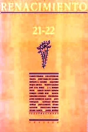 RENACIMIENTO, nº21-22.- Revista de Literatura. Director: Fernando