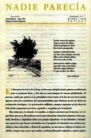 NADIE PARECÍA, nº6-7. Dirigen: José Mateos, Abel