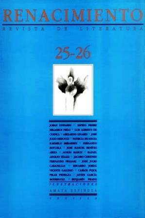 RENACIMIENTO, nº25-26.- Revista de literatura. Dirigida por