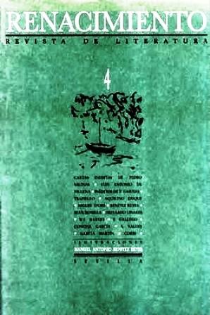 RENACIMIENTO, nº4.- Revista de Literatura. Director: Felipe