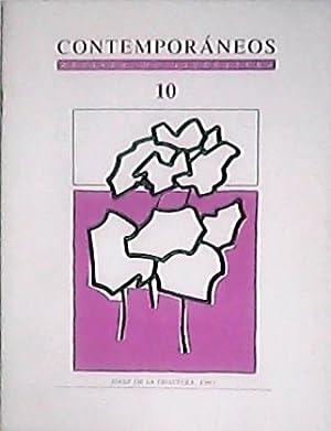 CONTEMPORANEOS, nº10.- Revista de Literatura. Director: Francisco
