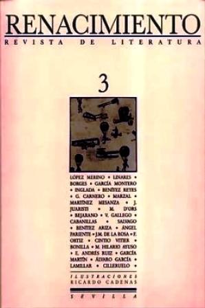 RENACIMIENTO, nº3.- Revista de Literatura. Director: Abelardo