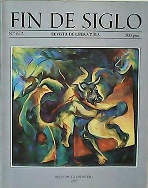 FIN DE SIGLO, nº6-7. Revista de Literatura.