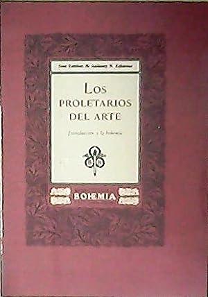 Los proletarios del arte. Introducción a la: ESTEBAN, José y