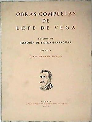 Obras no dramáticas, I. (Arcadia, La Dragontea,: VEGA, Lope de.-