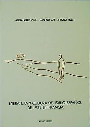 LITERATURA Y CULTURA DEL EXILIO ESPAÑOL DE: ALTED VIGIL, Alicia