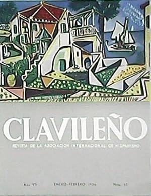 CLAVILEÑO, Revista de la Asociación Internacional de Hispanismo, Año VII n&...