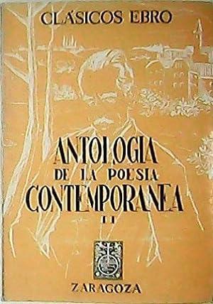 Antología de la poesía española contemporánea, II.: AGUIRRE, J. M.