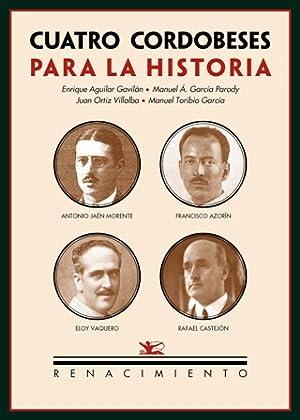 Cuatro cordobeses para la historia: Antonio Jaén: VV. AA.-