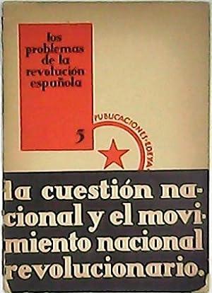 Los problemas de la revolución española. La: ANONIMO.-