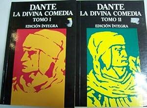 La divina comedia. 2 tomos. Traducción de Julio Úbeda Maldonado.: DANTE.-