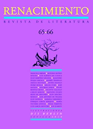 RENACIMIENTO, nº65-66. Revista de Literatura. Dirigida por