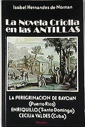La novela criolla en las Antillas. (Puerto: HERNANDEZ DE NORMAN,