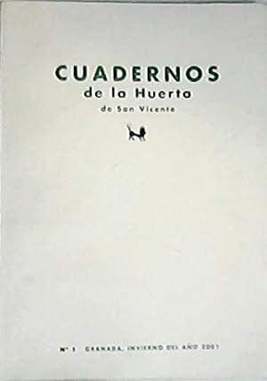 CUADERNOS DE LA HUERTA DE SAN VICENTE,