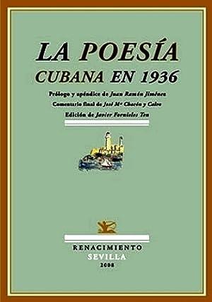 La poesía cubana en 1936. Prólogo y: VV. AA.-