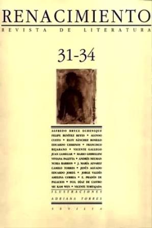 RENACIMIENTO, nº31-34.- Revista de literatura. Dirigida por