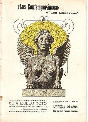 El anzuelo roto. Ilustr. de Mariano Pedrero.: ELOLA, José de.-