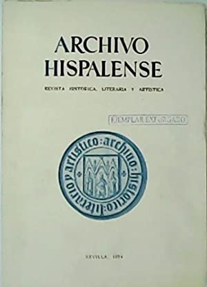 ARCHIVO HISPALENSE. Revista Histórica, Literaria y Artística.