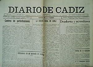 Diario de Cádiz. Edición de la tarde.