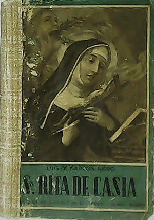 Santa. Rita de Casia.: MARCOS, Luis de.-