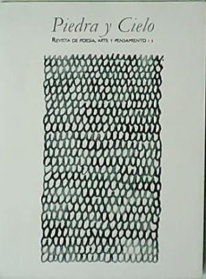 Piedra y Cielo. Revista de Poesía, Arte: VV. AA.- Alejandro