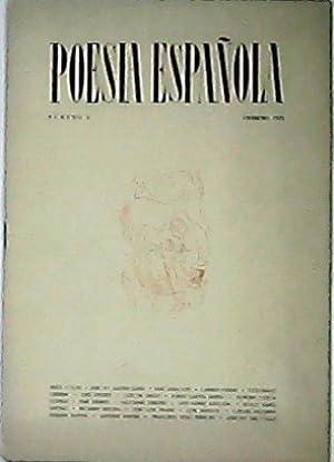 POESIA ESPAÑOLA, número 2.- Revista de poesía