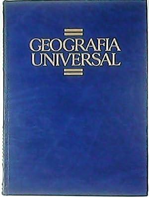 GEOGRAFÍA UNIVERSAL.- 5 tomos. Tomo I: Geografía