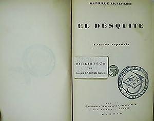 El desquite.: AIGUEPERSE, Mathilde.-