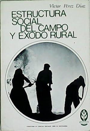 Estructura social del campo y éxodo rural.: PÉREZ DÍAZ, Víctor.-