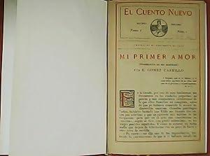 Mi primer amor.: GÓMEZ CARRILLO, E.-