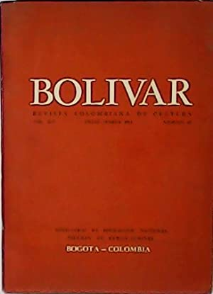 Bolivar. Revista Colombiana de Cultura. Vol. XIV.: AGUIRRE QUINERO, Julio.-