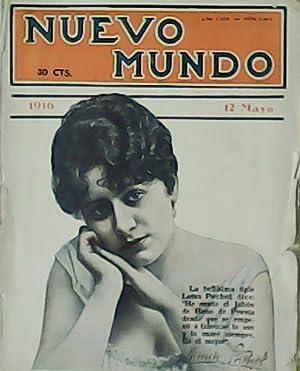 Nuevo Mundo. Revista popular ilustrada. Año XXIII.