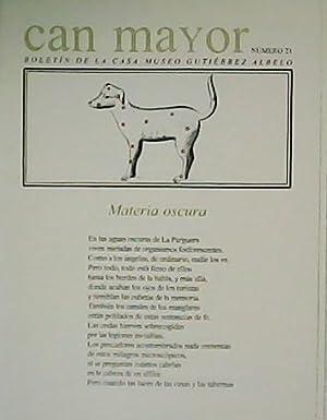 Can mayor. Boletín de la Casa-Museo Gutiérrez