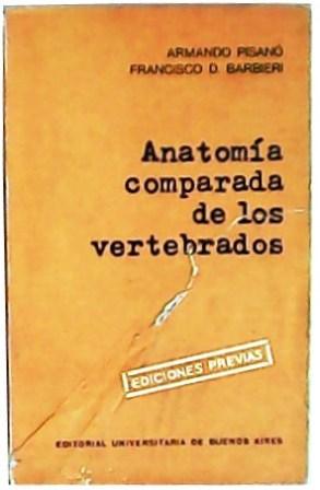 anatomia comparada vertebrados - Iberlibro