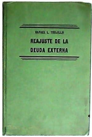 Reajuste de la deuda externa.: TRUJILLO, Rafael L.-