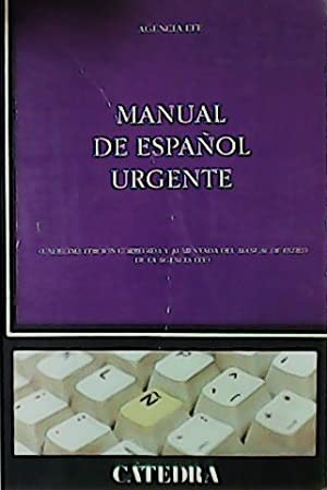 Manual de español urgente.: AGENCIA EFE.-