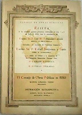 El Consejo de Obras Públicas en 1950.: LORENZO PARDO, Manuel